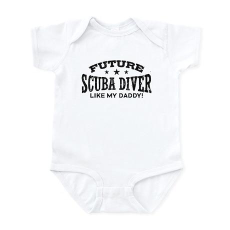 Future Scuba Diver Like My Daddy Infant Bodysuit