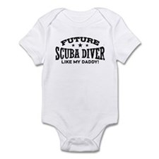 Future Scuba Diver Like My Daddy Onesie