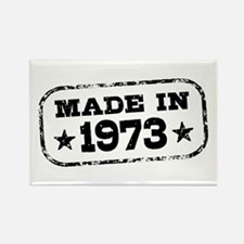 Made In 1973 Rectangle Magnet
