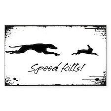 Speed Kills Decal