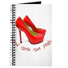 Cute Red stiletto Journal