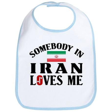Somebody In Iran Bib