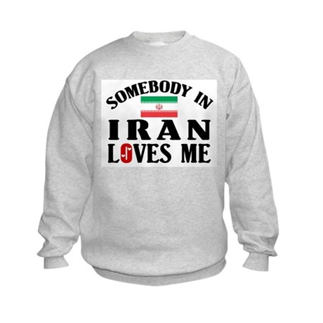 Somebody In Iran Kids Sweatshirt