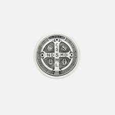 Medal of Saint Benedict Mini Button (100 pack)