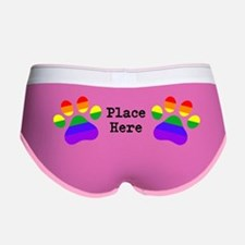 Place Paws Here Women's Boy Brief