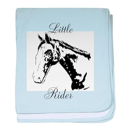 Little Rider Baby Blanket