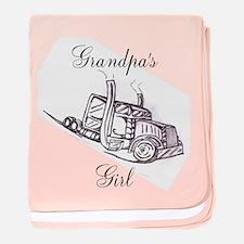 Grandpa's Girl Baby Blanket