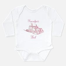 Grandpa's Girl Long Sleeve Infant Bodysuit