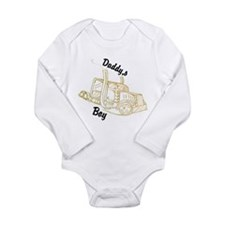 Daddy's Boy Long Sleeve Infant Bodysuit