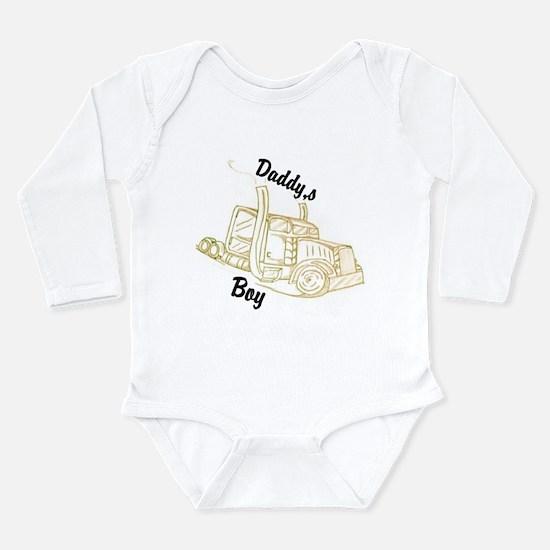 Daddy's Boy Long Sleeve Infant Bodysuit
