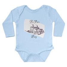 Papa's Boy Truck Long Sleeve Infant Bodysuit