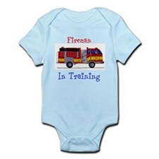 Fireman In Training Infant Bodysuit