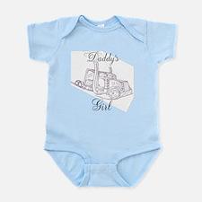 Daddy's Girl Pink Infant Bodysuit