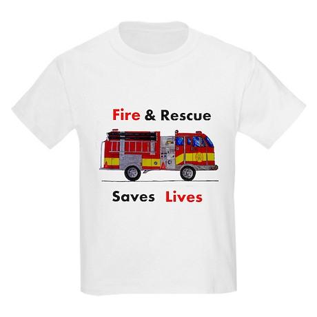 Fire & Rescue Kids Light T-Shirt