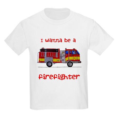 Firefighter Kids Light T-Shirt