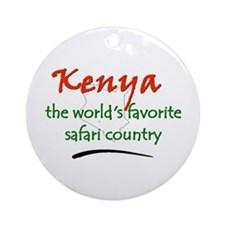 Kenya Goodies Ornament (Round)