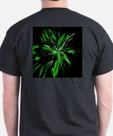 Explosive Abstract Design T-Shirt