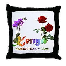 Kenya Goodies Throw Pillow