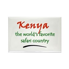 Kenya Goodies Rectangle Magnet