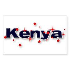 Kenya Goodies Rectangle Decal