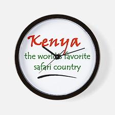 Kenya Goodies Wall Clock