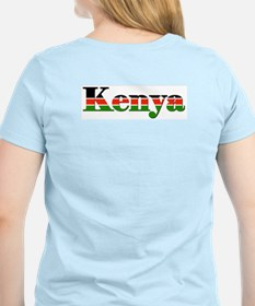 Kenya Goodies Women's Pink T-Shirt