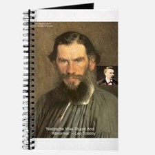 Leo Tolstoy On Nietzsche Quote Journal