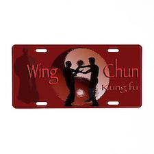 Aluminum License Plate, Wing Chun Kung fu
