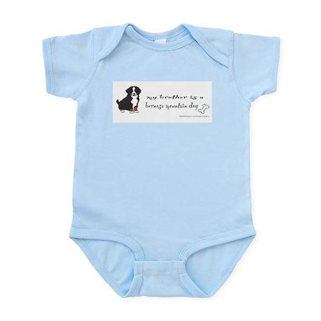 bernese Mountain Dog Infant Bodysuit