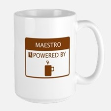 Maestro Powered by Coffee Mug