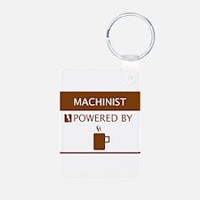 Machinist Powered by Coffee Keychains