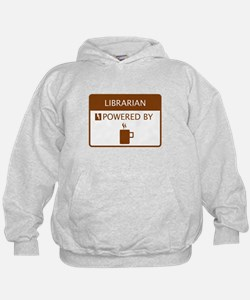 Librarian Powered by Coffee Hoodie