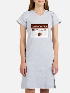 Law Professor Powered by Coffee Women's Nightshirt