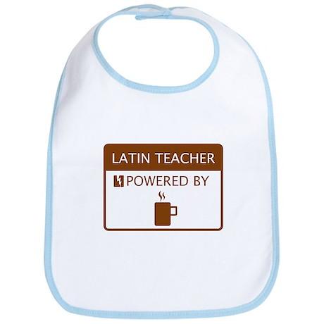 Latin Teacher Powered by Coffee Bib