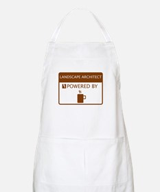 Landscape Architect Powered by Coffee Apron