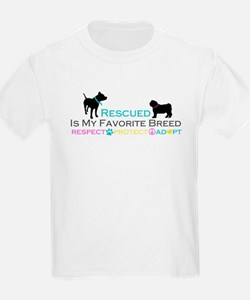 Rescued Is Favorite Breed T-Shirt