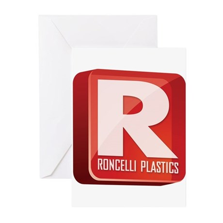 final_roncelli_logo.png Greeting Cards (Pk of 10)