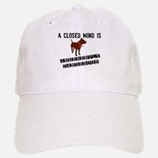 Closed Mind is Inherently Dangerous Baseball Baseball Cap