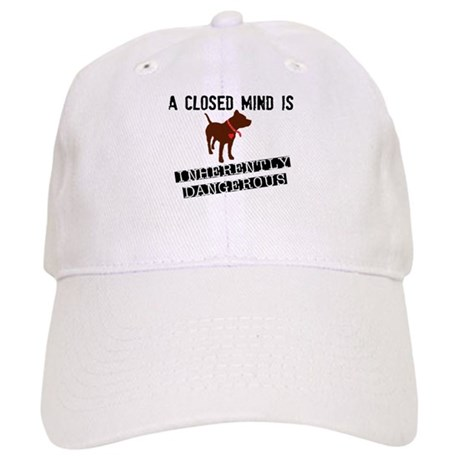 Closed Mind is Inherently Dangerous Cap