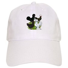 Four Crested Chickens Cap