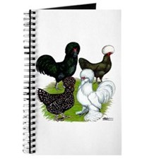 Four Crested Chickens Journal