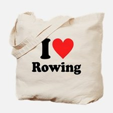 I Heart Rowing: Tote Bag