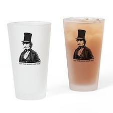 Isambard Kingdom Brunel Drinking Glass