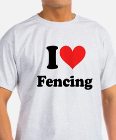 I Heart Fencing: T-Shirt