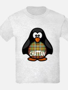 Chattan Tartan Penguin T-Shirt
