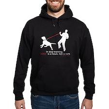 Dog Training-Jerk is a Noun Hoodie