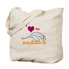 Ankylosaurus Tote Bag