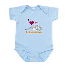 Ankylosaurus Infant Bodysuit