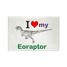 Eoraptor Rectangle Magnet