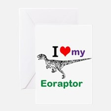 Eoraptor Greeting Card